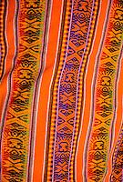 Yucay, Urubamba Valley, Peru - Multicolored Quechua Fabric