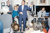 Julián Castro - House party at Gerri and Ron King's home - Concord, NH - 18 March 2019