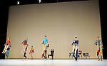 ROARATORIO....Choregraphie : CUNNINGHAM Merce..Mise en scene : CUNNINGHAM Merce..Compositeur : CAGE John..Compagnie : Merce Cunningham Dance Company..Decor : LANCASTER Mark..Lumiere : LANCASTER Mark,SHALLENBERG Christine..Costumes : LANCASTER Mark..Avec :..Interpretes dans les mots clefs..Lieu : Theatre de la Ville..Cadre : Festival d'Automne a Paris..Ville : Paris..Le : 09 11 2010..© Laurent PAILLIER / www.photosdedanse.com..All right reserved