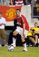 Corry Evans. Manchester United defeated Philadelphia Union, 1-0.