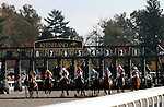 Goldrush GIrl and Julien Leparoux win the 4th race at Keeneland.  Julien won 5 races on closing day, and is the leading rider of the fall meet. October 29, 2011.