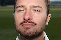 Jaik Mickleburgh of Essex poses to show his facial hair - Essex County Cricket Club Press Day at the Essex County Ground, Chelmsford, Essex - 02/04/13 - MANDATORY CREDIT: Gavin Ellis/TGSPHOTO - Self billing applies where appropriate - 0845 094 6026 - contact@tgsphoto.co.uk - NO UNPAID USE.