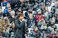 Chelsea manager Antonio Conte during the Premier League match between West Ham United and Chelsea at the Olympic Park, London, England on 9 December 2017. Photo by Andy Rowland.