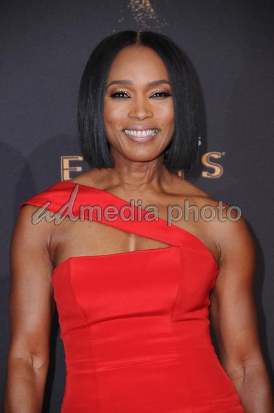 10 September  2017 - Los Angeles, California - Angela Bassett. 2017 Creative Arts Emmys - Arrivals held at Microsoft Theatre L.A. Live in Los Angeles. Photo Credit: Birdie Thompson/AdMedia