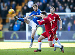 St Johnstone v Rangers…..23.02.20   McDiarmid Park   SPFL<br />David Wotherspoon and Ryan Jack<br />Picture by Graeme Hart.<br />Copyright Perthshire Picture Agency<br />Tel: 01738 623350  Mobile: 07990 594431
