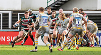 20th February 2021; Welford Road Stadium, Leicester, Midlands, England; Premiership Rugby, Leicester Tigers versus Wasps; Jasper Wiese of Leicester Tigers breaks forward with the ball