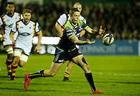 Photo: Richard Lane/Richard Lane Photography. Connacht v Wasps.  European Rugby Champions Cup. 17/12/2016. Connacht's Jack Carty.