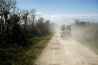 when dust rules the race<br /> <br /> 33th Tro Bro Léon 2016