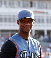 Samuel Deduno - Tulsa Drillers.2009 Texas League All-Star game held at Dr. Pepper Ballpark, Frisco, TX - 07/01/2009. The game was won by the North Division, 2-1..Photo by:  Bill Mitchell/Four Seam Images