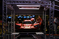 #31 Whelen Engineering Racing Cadillac DPi, DPi: Felipe Nasr, Pipo Derani, Eric Curran, tech inspection