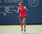 August  16, 2017:  Madison Keys (USA) defeated Daria Kasatkina (RUS) 6-2, 6-1, at the Western & Southern Open being played at Lindner Family Tennis Center in Mason, Ohio. ©Leslie Billman/Tennisclix/CSM