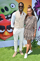 """LOS ANGELES, USA. August 10, 2019: Sterling K. Brown & Ryan Michelle Bathe at the premiere of """"The Angry Birds Movie 2"""" at the Regency Village Theatre.<br /> Picture: Paul Smith/Featureflash"""