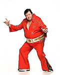 Will Atkinson, an Elvis impersonator, in Oxford, Miss. on Wednesday, November 9, 2011.