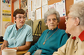 Josie Hollis, Hill-Wood Age Concern Resource Centre, shortlisted for Camden Council's Caring for Another EPIC Award 2005.