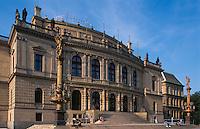 Rudolfinum (Umelcu Dum), Prag, Tschechien, Unesco-Weltkulturerbe.