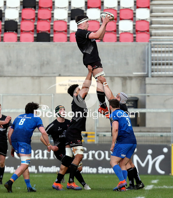 15 January 2021; Harry Sheridan during the A Interprovincial match between Ulster and Leinster at Kingspan Stadium in Belfast. Photo by John Dickson/Dicksondigital
