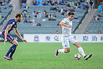 Auckland City Forward Emiliano Tade (R) in action during the Nike Lunar New Year Cup 2017 match between SC Kitchee (HKG) and Auckland City FC (NZL) on January 31, 2017 in Hong Kong, Hong Kong. Photo by Marcio Rodrigo Machado / Power Sport Images