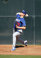 Josh Sborz - Los Angeles Dodgers 2019 spring training (Bill Mitchell)