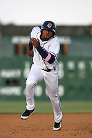May 9, 2010: Freddy Parejo of the Lancaster JetHawks during game against the Inland Empire 66'ers at Clear Channel Stadium in Lancaster,CA.  Photo by Larry Goren/Four Seam Images