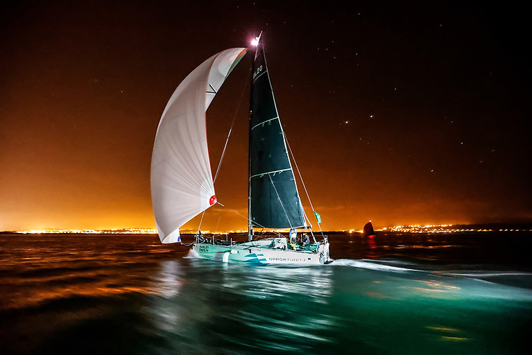 RL Sailing finishes at Cherbourg to record a five hour win in the Figaro 3 Two-Handed Division in the Rolex Fastnet Race 2021