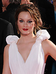 Leighton Meester at The 61st Primetime Emmy Awards held at Te Nokia Theater in Los Angeles, California on September 20,2009                                                                                      Copyright 2009 Debbie VanStory / RockinExposures
