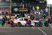 NASCAR XFINITY Series<br /> VisitMyrtleBeach.com 300<br /> Kentucky Speedway<br /> Sparta, KY USA<br /> Saturday 23 September 2017<br /> Kyle Benjamin, Hurricane Relief Toyota Camry pit stop<br /> World Copyright: Barry Cantrell<br /> LAT Images