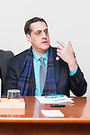International human rights activist Stuart Milk  during meeting with the press in Madrid, Spain. January 16, 2017. (ALTERPHOTOS/BorjaB.Hojas)