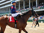 May 30, 2015 She's Not Here (Robby Albarado) won the sixth race at Churchill Downs. Her dam is a half sister to Zenyatta, and she is by Zenyatta's sire. Owner G. Watts Humphrey Jr. and St. George Farm Racing, Trainer Victoria Oliver.  By Street Cry x Where's Bailey (Aljabr) ©Mary M. Meek/ESW/CSM