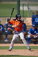 San Francisco Giants Adam Sonabend (21) during an instructional league game against the Kansas City Royals on October 23, 2015 at the Papago Baseball Facility in Phoenix, Arizona.  (Mike Janes/Four Seam Images)