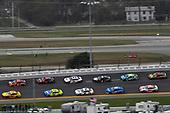 #22: Joey Logano, Team Penske, Ford Mustang Shell Pennzoil and #19: Martin Truex Jr., Joe Gibbs Racing, Toyota Camry Bass Pro Shops/Tracker ATVs Toyota