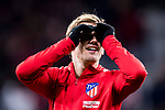 Antoine Griezmann of Atletico de Madrid prior to the La Liga 2017-18 match between Atletico de Madrid and CD Leganes at Wanda Metropolitano on February 28 2018 in Madrid, Spain. Photo by Diego Souto / Power Sport Images
