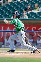 Dayton Dragons outfielder Jeff Gelalich (20) during a game against the Lansing Lugnuts on August 25, 2013 at Cooley Law School Stadium in Lansing, Michigan.  Dayton defeated Lansing 5-4 in 11 innings.  (Mike Janes/Four Seam Images)