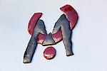 Spain, Canary Island, Lanzarote, Taro de Tahiche: Fundacion Cesar Manrique - Manrique's logo | Spanien, Kanarische Inseln, Lanzarote, Taro de Tahiche: Fundación César Manrique, Manriques Logo