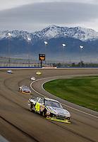 Feb 22, 2009; Fontana, CA, USA; NASCAR Sprint Cup Series driver Jimmie Johnson during the Auto Club 500 at Auto Club Speedway. Mandatory Credit: Mark J. Rebilas-