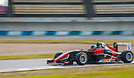 Oliver Askew of USA and Absolute Racing drives during the Formula Masters China Series as part of the 2015 Pan Delta Super Racing Festival at Zhuhai International Circuit on September 19, 2015 in Zhuhai, China.  Photo by Moses Ng/Power Sport Images