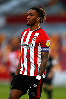19th December 2020; Brentford Community Stadium, London, England; English Football League Championship Football, Brentford FC versus Reading; Ivan Toney of Brentford wearing the captains arm band