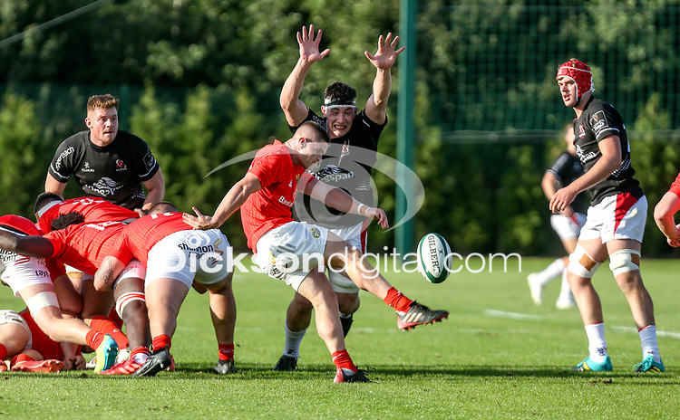 Saturday 18th September 2021<br /> <br /> Aaron Hehir during the Development A Interprovincial game Ulster A and Munster A at the IRFU High Performance Centre, Dublin, Ireland. Photo by John Dickson/Dicksondigital