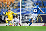 St Johnstone v Brechin….24.07.19      McDiarmid Park     Betfred Cup       <br />Matty Kennedy scores the fourth goal<br />Picture by Graeme Hart. <br />Copyright Perthshire Picture Agency<br />Tel: 01738 623350  Mobile: 07990 594431