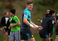 Jordie Barrett. Hurricanes rugby union training at Rugby League Park in Wellington, New Zealand on Wednesday, 19 April 2017. Photo: Dave Lintott / lintottphoto.co.nz