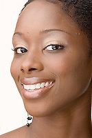 Beauty photo of an African American woman<br />
