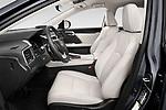Front seat view of 2021 Lexus RX 350 5 Door SUV Front Seat  car photos