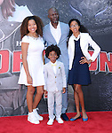 Djimon Hounsou attends The Twentieth Century Fox's How To Train Your Dragon 2 Premiere at The Regency Village in Westwood, California on JUNE 08,2014                                                                               © 2014 Hollywood Press Agency