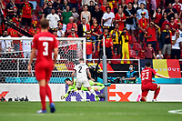 COPENHAGEN, DENMARK - JUNE 17 : Goal by Denmark during the 16th UEFA Euro 2020 Championship Group B match between Denmark and Belgium on June 17, 2021 in Copenhagen, Denmark, 17/06/2021  <br /> Photo Photonews / Panoramic / Insidefoto <br /> ITALY ONLY