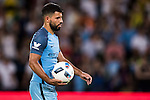 Manchester City striker Sergio Aguero during the 2016 International Champions Cup China match at the Shenzhen Stadium on 28 July 2016 in Shenzhen, China. Photo by Victor Fraile / Power Sport Images