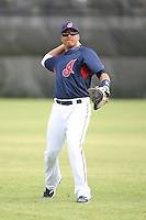 March 20th 2008:  Victor Martinez of the Cleveland Indians during a Spring Training game at Chain of Lakes Park in Winter Haven, FL.  Photo by:  Mike Janes/Four Seam Images