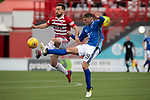 Hamilton Accies v St Johnstone….18.05.19      New Douglas Park        SPFL<br />Tony Andreu and Ross Callachan<br />Picture by Graeme Hart. <br />Copyright Perthshire Picture Agency<br />Tel: 01738 623350  Mobile: 07990 594431