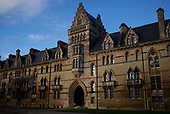 Oxford University<br /> Oxford, United Kingdom<br /> November 28, 2018<br /> <br /> Christ Church Cathedral, Medieval Gothic and Romanesque cathedral serving Christ Church college and the local parish.