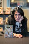 Spanish writter, artist manager and TV presenter Mario Vaquerizo, signs his new book 'Fabiografia' at FNAC store in Madrid, Spain. April 03, 2014. (ALTERPHOTOS/Carlos Dafonte)