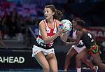 Fast5 2017<br /> Fast 5 Netball World Series<br /> Hisense Arena Melbourne<br /> Match <br /> England v Malawi<br /> Beth Cobden<br /> <br /> <br /> <br /> Photo: Grant Treeby