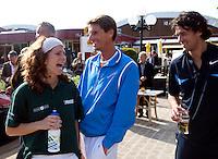 11-5-09, Tennis, Sportpromotion tennisdag, Barbara Barend Paul Haarhuis en Jonn van Lottum